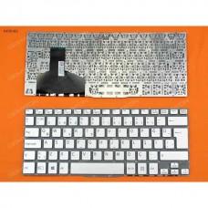 Sony VAIO Fit 13 13A 13N SVF13 SVF13A SVF13N gümüş klavye
