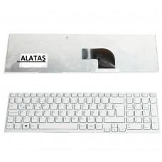 Sony Vaio E Serisi, SVE15, SVE1512M1EW, SVE1512Y1ESI, SVE1512W1EB, ... vb Notebook Klavye - Tuş Takımı / Beyaz - TR